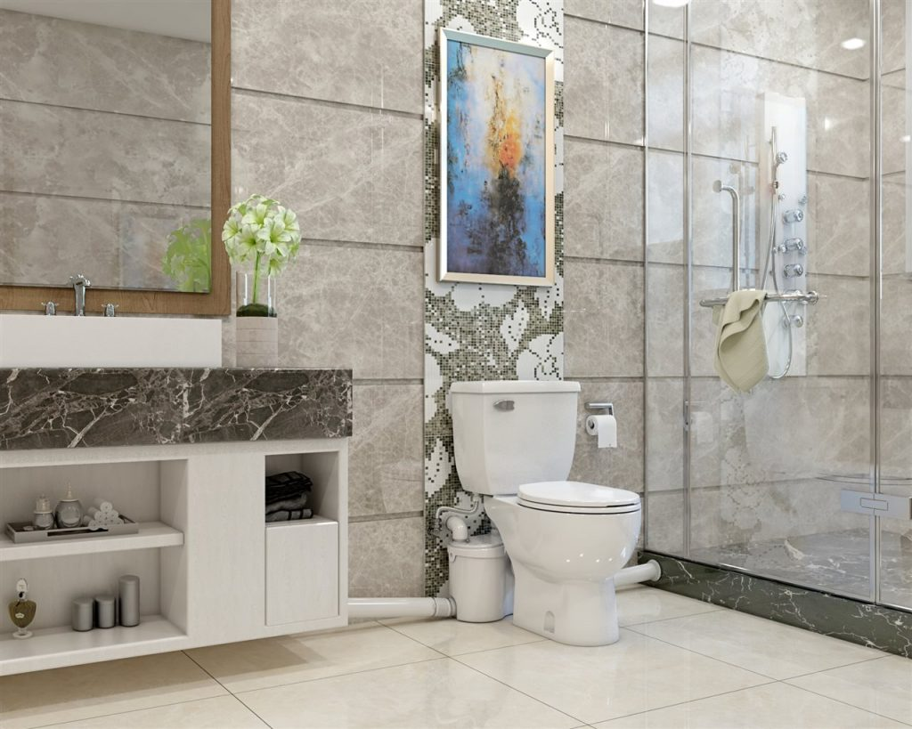 elegant bathroom | ALLIN Home Inspections | boost your home's value | Sterling home inspection