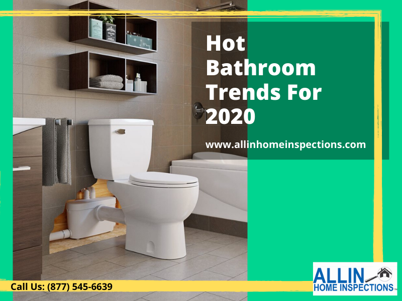 bathroom trends 2020 ALLIN