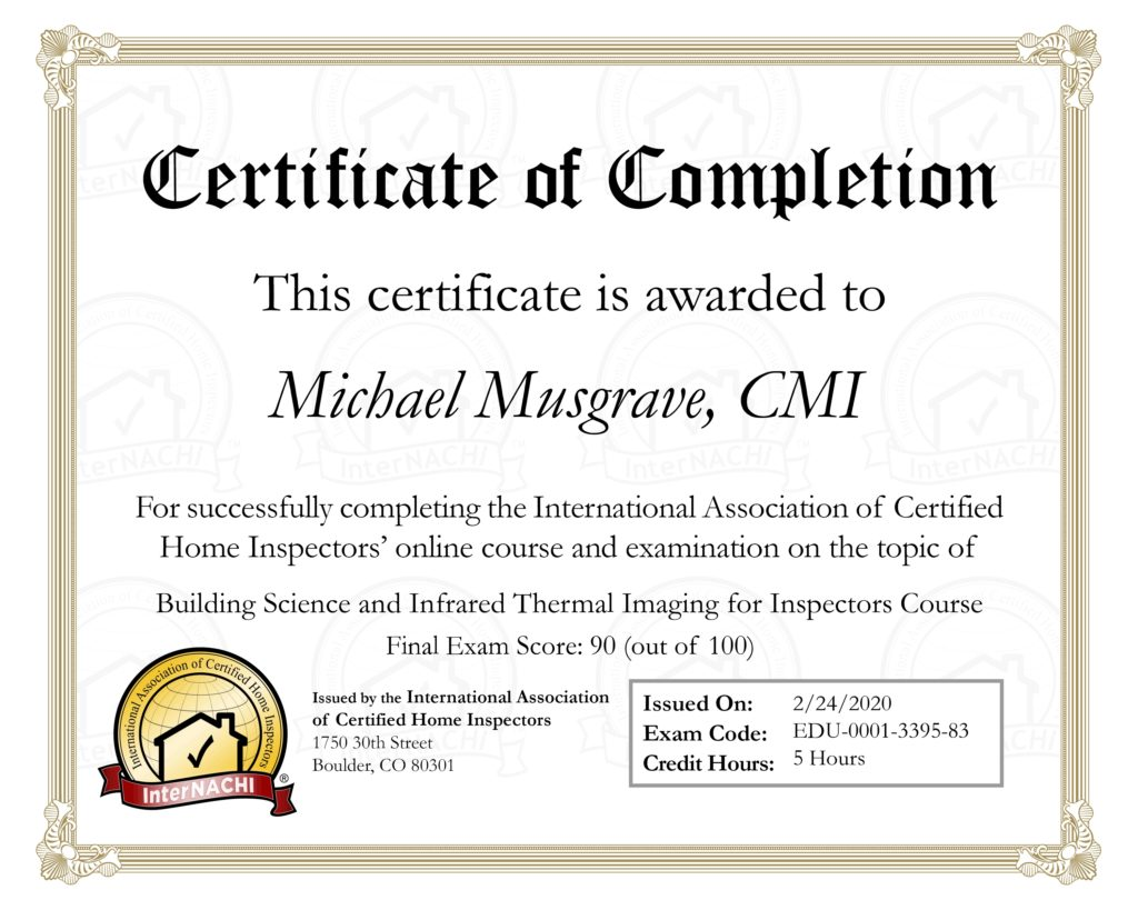 internachi certification