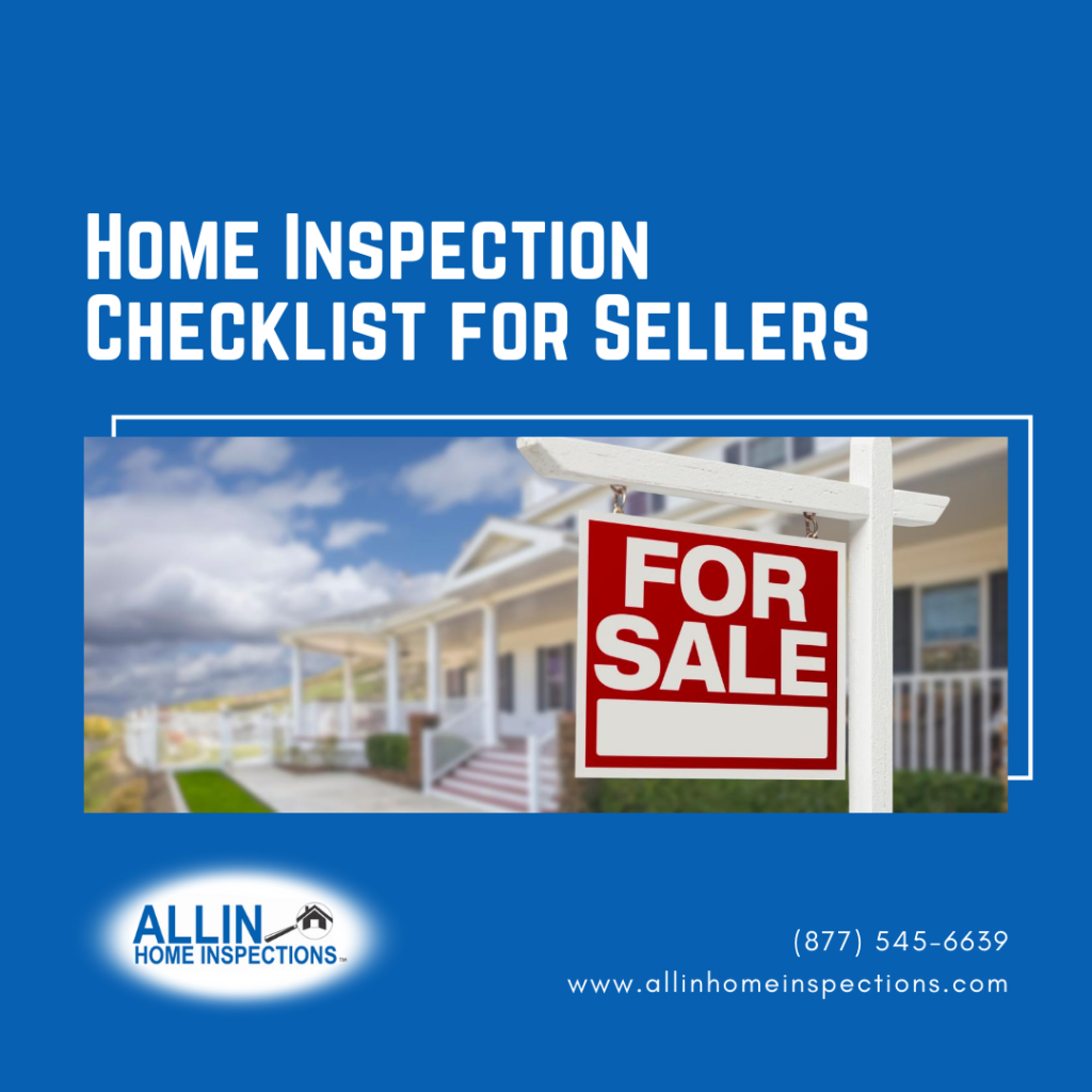 ALLIN Home Inspections Home Inspection Checklist for Sellers