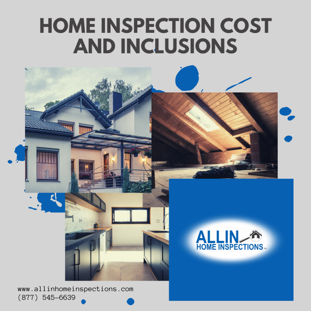 Home Inspection Cost and Inclusions AllIn Home Inspections