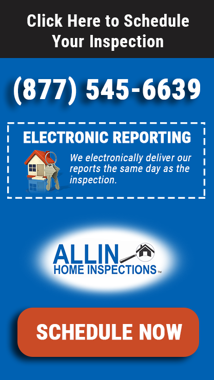 Schedule ALLIN Home Inspections, Inc. Today!